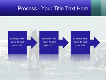 Group on the water PowerPoint Template - Slide 88