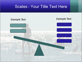 Group on the water PowerPoint Template - Slide 89