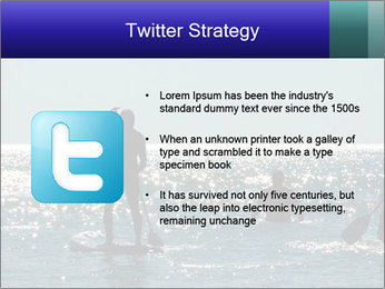 Group on the water PowerPoint Template - Slide 9