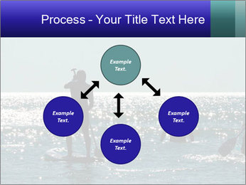 Group on the water PowerPoint Template - Slide 91