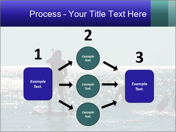 Group on the water PowerPoint Template - Slide 92