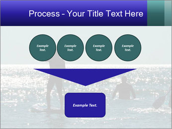 Group on the water PowerPoint Template - Slide 93