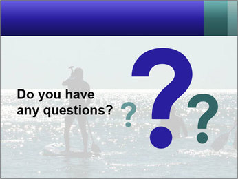 Group on the water PowerPoint Template - Slide 96