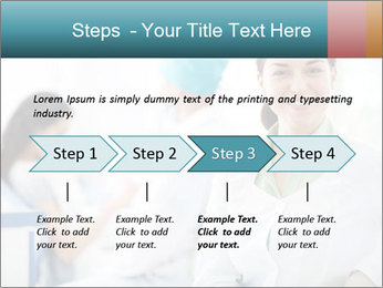 Dentist and patient PowerPoint Template - Slide 4