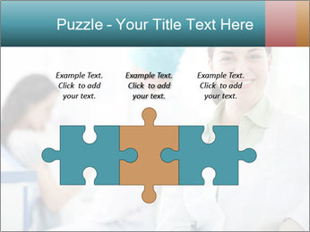 Dentist and patient PowerPoint Template - Slide 42
