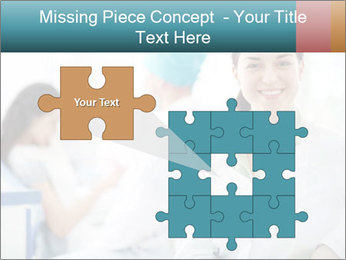 Dentist and patient PowerPoint Template - Slide 45