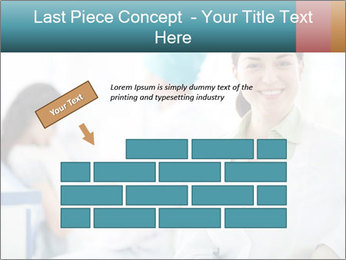 Dentist and patient PowerPoint Template - Slide 46