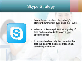 Dentist and patient PowerPoint Templates - Slide 8