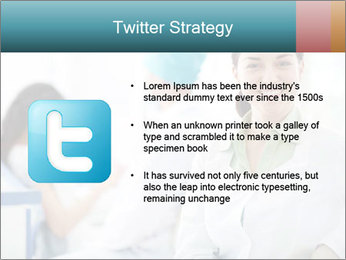 Dentist and patient PowerPoint Templates - Slide 9