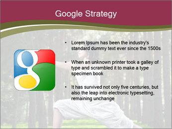Yoga virabhadrasana PowerPoint Template - Slide 10