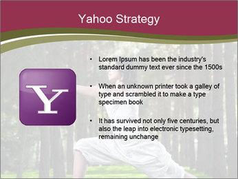 Yoga virabhadrasana PowerPoint Template - Slide 11