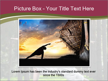 Yoga virabhadrasana PowerPoint Template - Slide 15