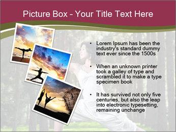 Yoga virabhadrasana PowerPoint Template - Slide 17