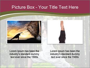 Yoga virabhadrasana PowerPoint Template - Slide 18