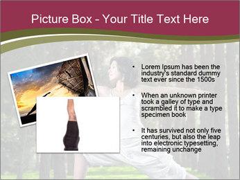 Yoga virabhadrasana PowerPoint Template - Slide 20