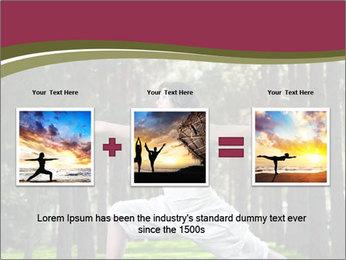 Yoga virabhadrasana PowerPoint Template - Slide 22