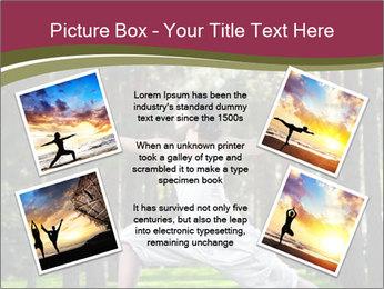 Yoga virabhadrasana PowerPoint Template - Slide 24