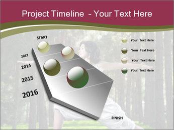 Yoga virabhadrasana PowerPoint Template - Slide 26