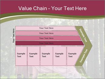 Yoga virabhadrasana PowerPoint Template - Slide 27