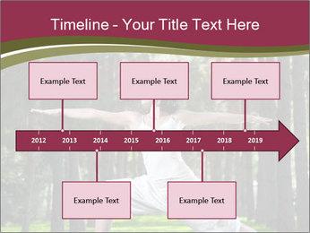 Yoga virabhadrasana PowerPoint Template - Slide 28