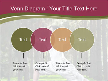 Yoga virabhadrasana PowerPoint Template - Slide 32