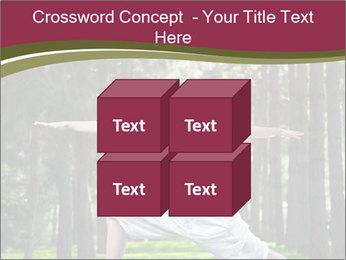 Yoga virabhadrasana PowerPoint Template - Slide 39