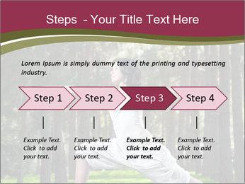 Yoga virabhadrasana PowerPoint Template - Slide 4