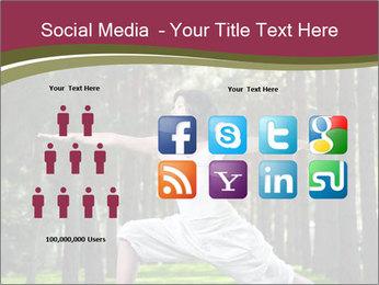 Yoga virabhadrasana PowerPoint Template - Slide 5