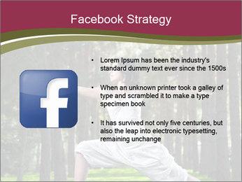 Yoga virabhadrasana PowerPoint Template - Slide 6