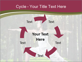 Yoga virabhadrasana PowerPoint Template - Slide 62
