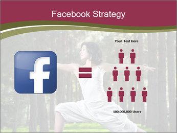 Yoga virabhadrasana PowerPoint Template - Slide 7