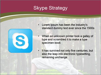 Yoga virabhadrasana PowerPoint Template - Slide 8