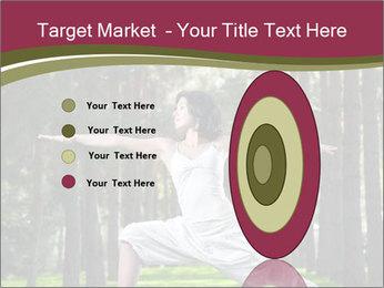 Yoga virabhadrasana PowerPoint Template - Slide 84