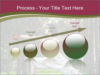 Yoga virabhadrasana PowerPoint Template - Slide 87