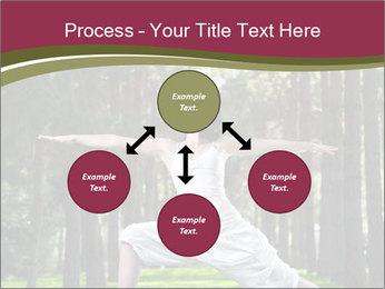 Yoga virabhadrasana PowerPoint Template - Slide 91