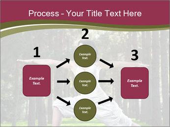 Yoga virabhadrasana PowerPoint Template - Slide 92