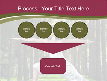 Yoga virabhadrasana PowerPoint Template - Slide 93