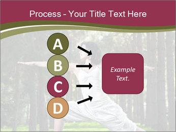 Yoga virabhadrasana PowerPoint Template - Slide 94