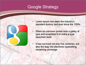 Beautiful cherry blossom PowerPoint Template - Slide 10
