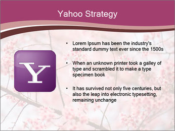 Beautiful cherry blossom PowerPoint Template - Slide 11