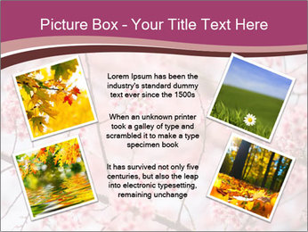 Beautiful cherry blossom PowerPoint Templates - Slide 24