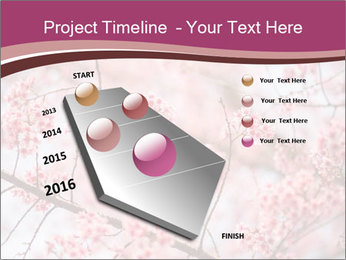Beautiful cherry blossom PowerPoint Template - Slide 26