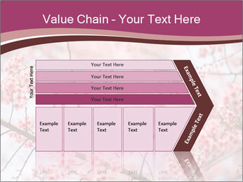 Beautiful cherry blossom PowerPoint Templates - Slide 27