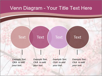 Beautiful cherry blossom PowerPoint Template - Slide 32