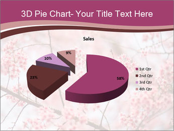 Beautiful cherry blossom PowerPoint Template - Slide 35