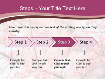Beautiful cherry blossom PowerPoint Template - Slide 4