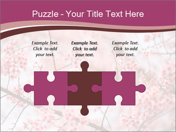 Beautiful cherry blossom PowerPoint Templates - Slide 42