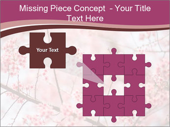 Beautiful cherry blossom PowerPoint Template - Slide 45