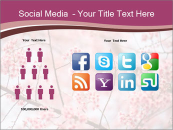 Beautiful cherry blossom PowerPoint Template - Slide 5