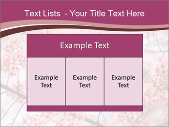 Beautiful cherry blossom PowerPoint Templates - Slide 59
